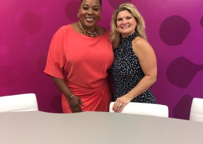 Natasha Hampton from Good Morning Miramar with Diane Grant